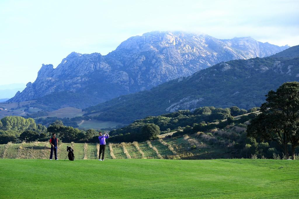 France, Corse du Sud (2A), Domaine de Murtoli, le golf